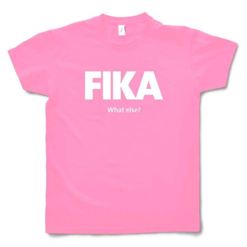 Fika T-shirt Pink