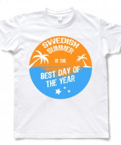T-shirt white best day